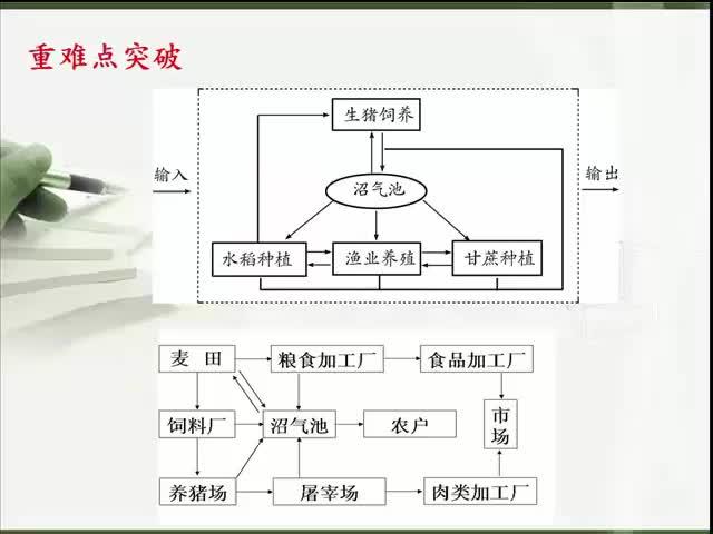 人教版 高一地理必修二 第六章 第二节:中国可持续发展的实践——生态农业-微课堂