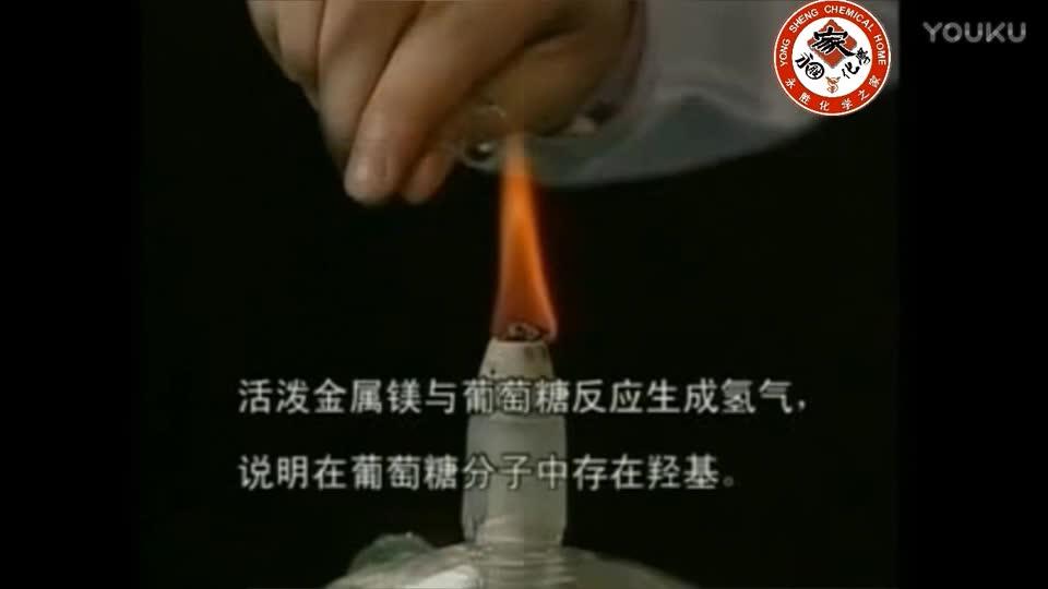 高中实验216-葡萄糖与镁粉的反应-实验演示