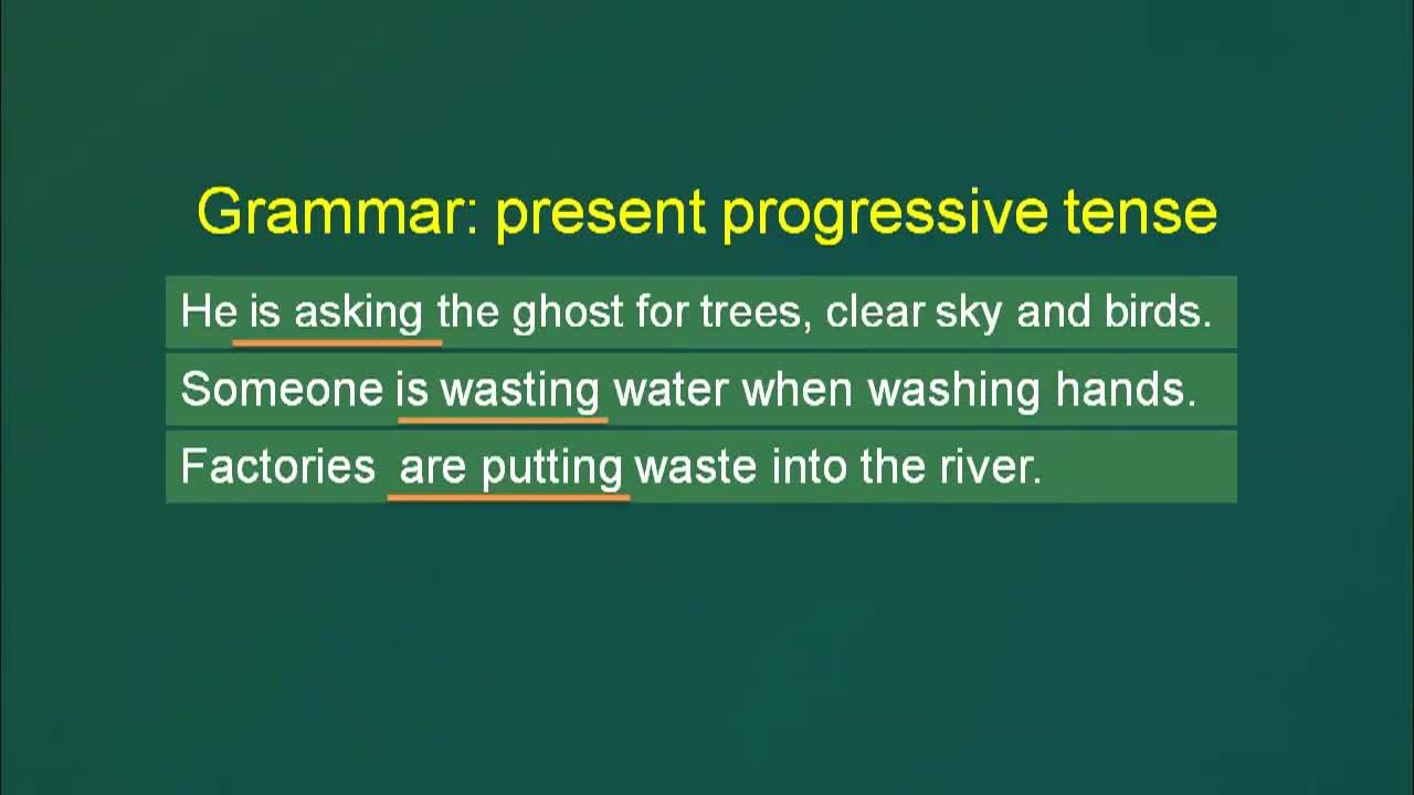 【精品微课】九年级下英语(人教版)名师微课视频:We're trying to save the earth Grammar