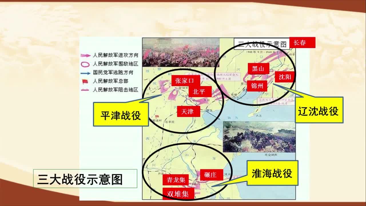 【名校名师微课】八年级上历史(人教版)核心知识名师讲解视频:南京解放