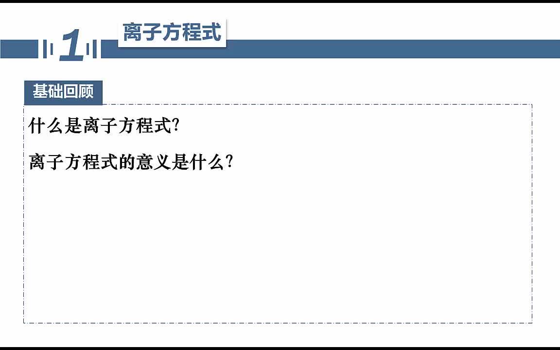 【名师微课】浙江省化学选考复习之无机化学反应疑难突破:离子方程式正误判断