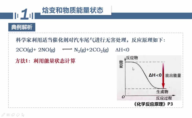 【名师微课】浙江省化学选考复习之无机化学反应疑难突破:几种焓变的计算方法