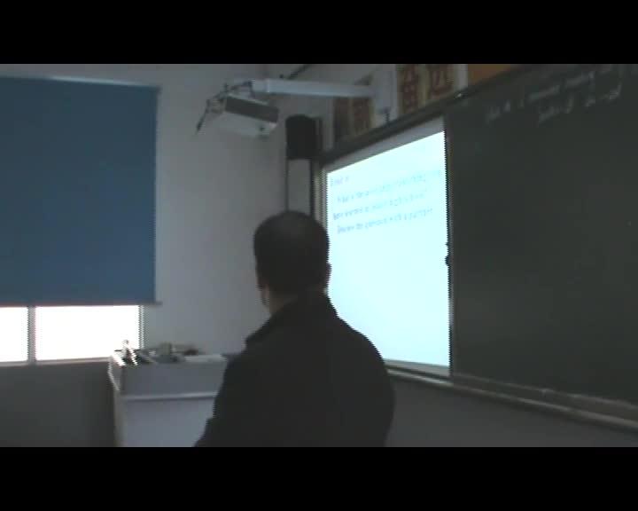 [中学联盟]陕西省石泉县池河中学人教版九年级英语全册:Unit 14 Section B 2a--2d 课堂实录