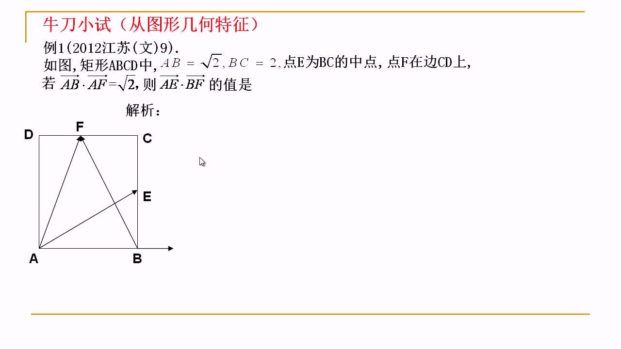 【名师微课】高三数学重难点名师点金:向量问题(3)