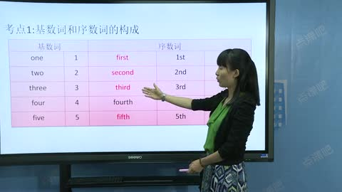 九年级英语(中考):数词-名师示范课
