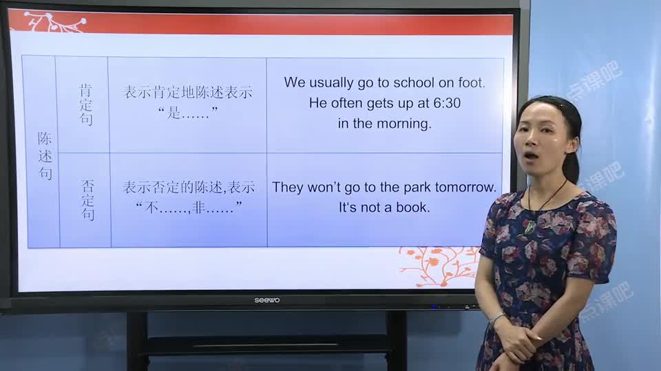 九年级英语(中考):陈述句和疑问句-名师示范课