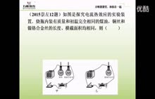人教版 初三物理:电流的热效应探究-微课堂