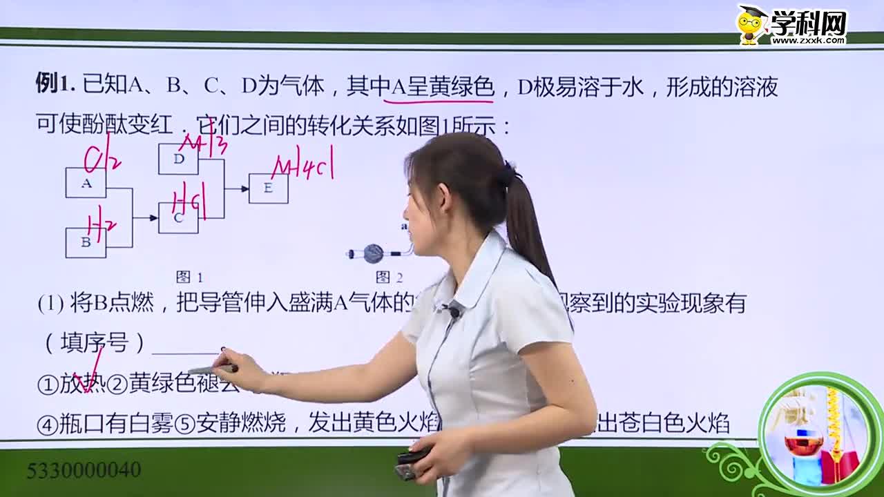 高考化学 突破无机推断:非金属及其化合物推断题解析-试题视频(5330000040)