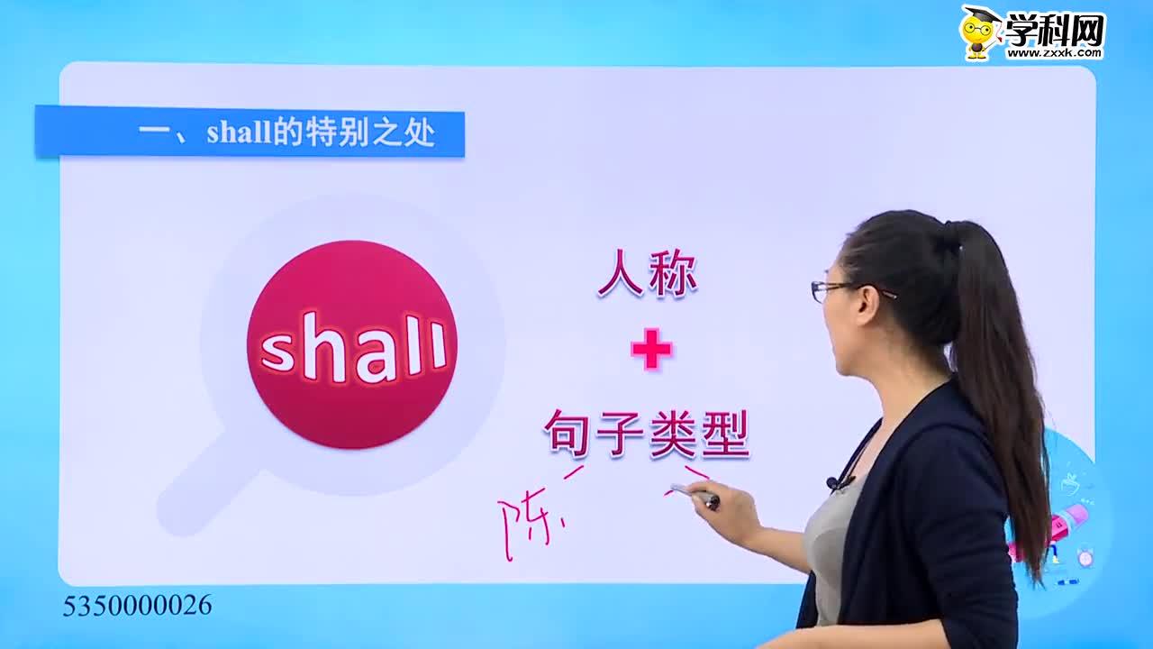 高考英语 情态动词查漏补缺:情态动词---shall的特殊用法-试题视频
