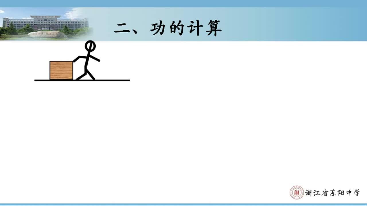 【名师微课】人教版高中物理必修二同步 核心知识精讲:功