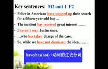 译林牛津版 高一英语模块二 第一单元 语法知识讲解:现在完成时-微课堂视频