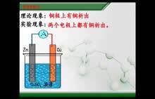 人教版 高二化学选修4 第四章 第一节:双液原电池-白菊萍-微课堂视频