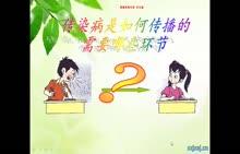 北师大版 七年级生物下册 13.2预防传染病-视频微课堂