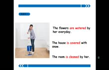人教版 九年级英语上册 第五单元 一般现在时的被动语态-视频微课堂