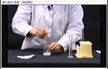 人教版 九年级化学下册 第九单元 溶液 氯化钠在水中的溶解-实验演示