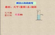 人教版 八年级物理上册 6.3固体密度的测量-视频微课堂
