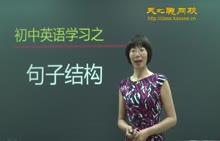 初中英语-句子结构专项训练(1)-视频微课堂