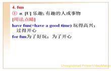 人教版 七年级英语上册 Unit9Myfavoritesubjectisscience.-02.fun,forsure,for+一段时间等用法-视频微课堂