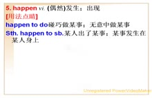人教版 八年级英语上册 Unit5Doyouwanttowatchagameshow?-02.happen, takeplace,expect,joke,famous,appear用法-视频微课堂