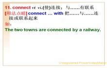 人教版 九年级英语 Unit1Howcanwebecomegoodlearners?-04.connect,evenif,knowledge及单元语法-by引导的方式状语-视频微课堂