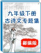 部编版九年级下册古诗文专题集