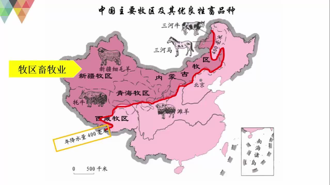 高考地理 农业专题复习8-中国畜牧业的分布及原因分析-视频微课堂