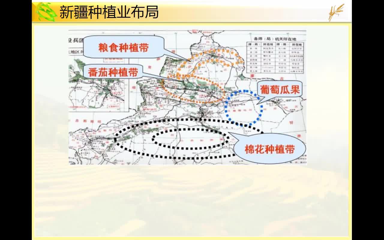 高考地理 农业专题复习10-中国商品谷物农业的分布及发展条件-视频微课堂