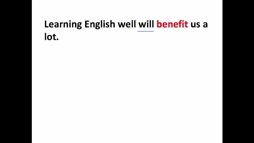 """译林牛津版 高一英语 必修二 将""""好处""""进行到底--全方位学习benefit-视频微课堂"""