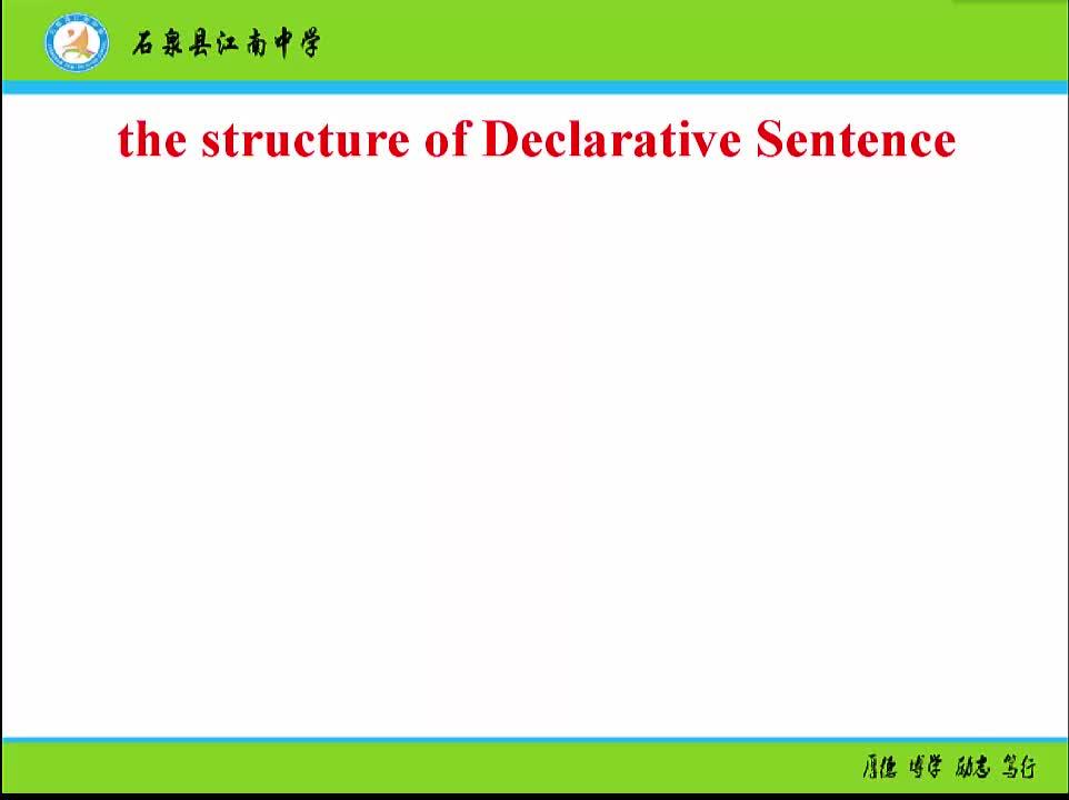 人教版 高二英语 选修6  It 强调句的用法-视频微课堂