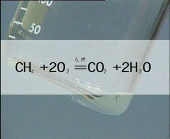 人教版 九年级化学 甲烷的燃烧