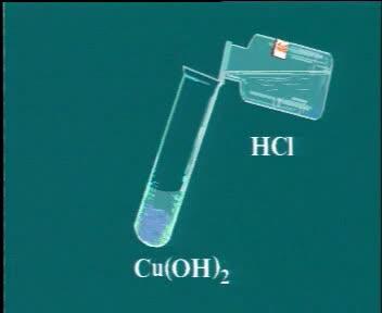 人教版 九年级化学 盐酸的化学性质