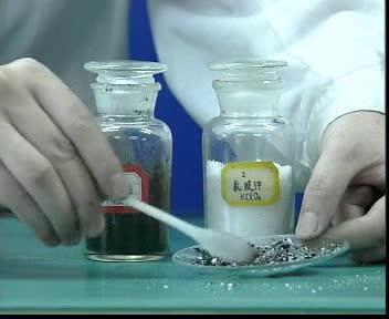 人教版 九年级化学 用氯酸钾和二氧化锰制氧气