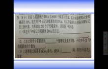 廷锴纪念中学2018届寒假作业生物理综模拟01一29.30题视频