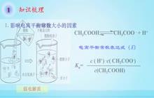 高二化学《溶液中的离子反应》微课:电离平衡常数在离子反应中的应用