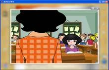 外研版 七年级英语上册:自我介绍-动画-视频素材