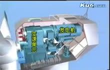 人教版 高一物理:风力发电-视频素材