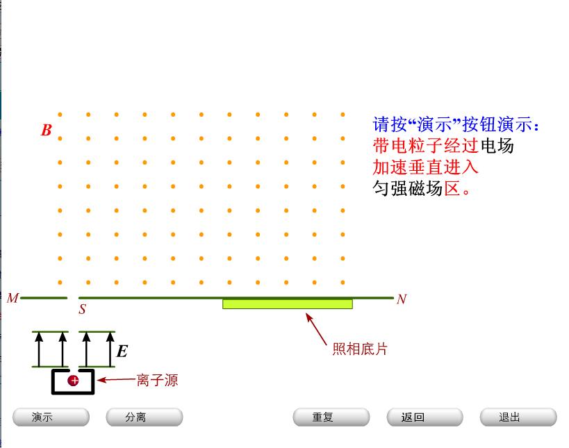 人教版 高二物理:质谱仪-视频素材 (5份打包)