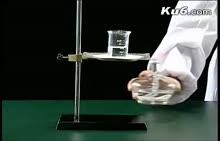 高一化学:氢氧化铁胶体制备、丁达尔效应-实验演示视频