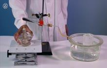 人教版九年级化学上册第2单元 分解高锰酸钾制取氧气 实验视频