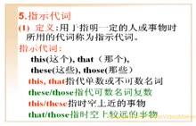 中考英语:代词⑤指示代词-微课堂视频