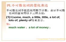 中考英语:4.不可数名词的量化表达-微课堂视频