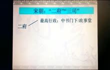 高一 政治 《中国古代专制主义中央集权制演变特点》-微课堂视频