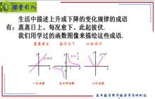 人教A版 高中数学 必修1 第10讲 函数的单调性-微课堂