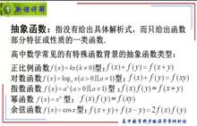人教A版 高中数学 必修1 简单的抽象函数-微课堂