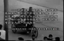八年级历史 文化大革命-视频素材