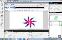 八年级信息技术上第4课 多图层动画柳枝制作课件(可用)-微课堂