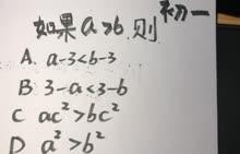 初一数学:不等式-微课堂视频