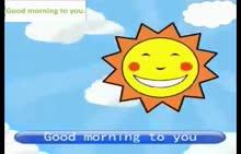七年级英语 Good morning to you