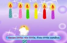 七年级英语 Ten little candls