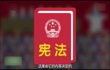 八年级下册 政治 宪法简介-视频素材